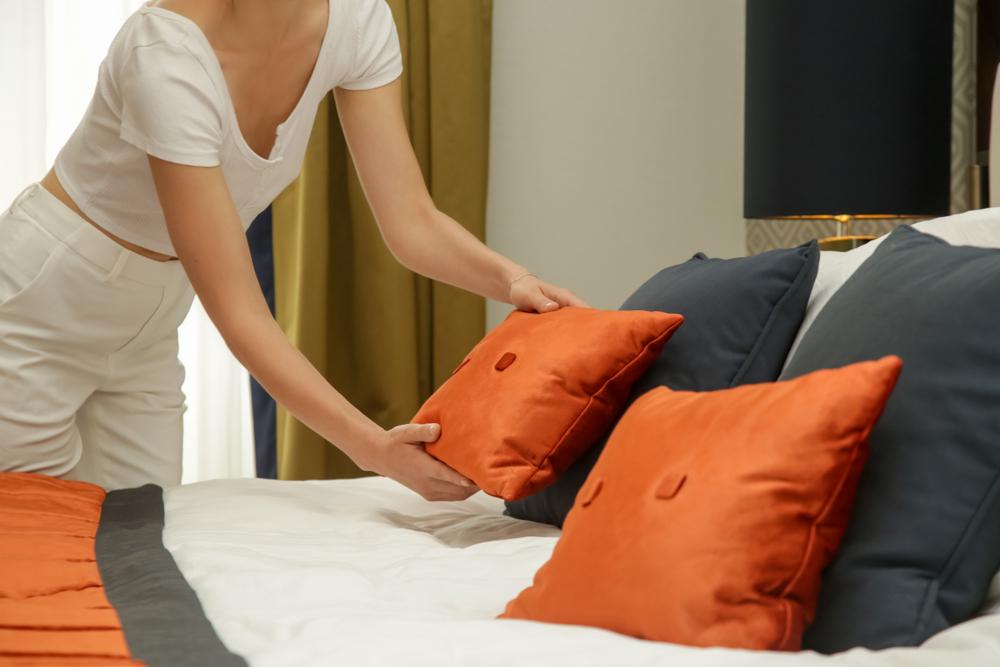 テンピュール枕 使い方
