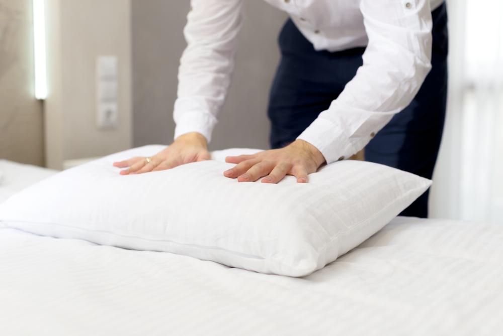 硬め 枕 素材